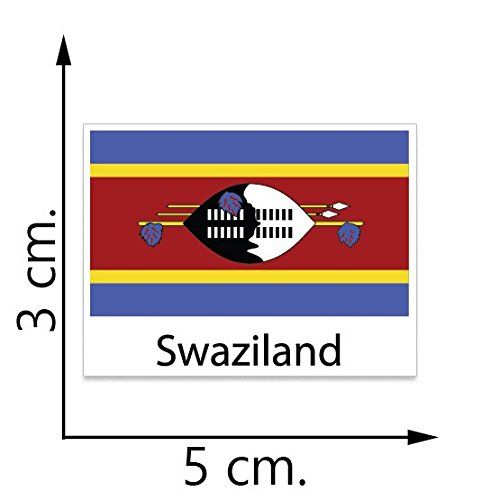 Swaziland Flag Temporary Tattoos Sticker Body Tattoo *** More info could be found at the image url. (This is an affiliate link) #TemporaryTattoos