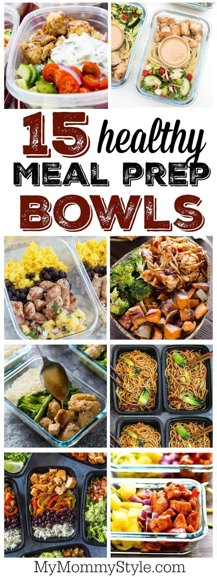 15 healthy meal prep bowl recipes