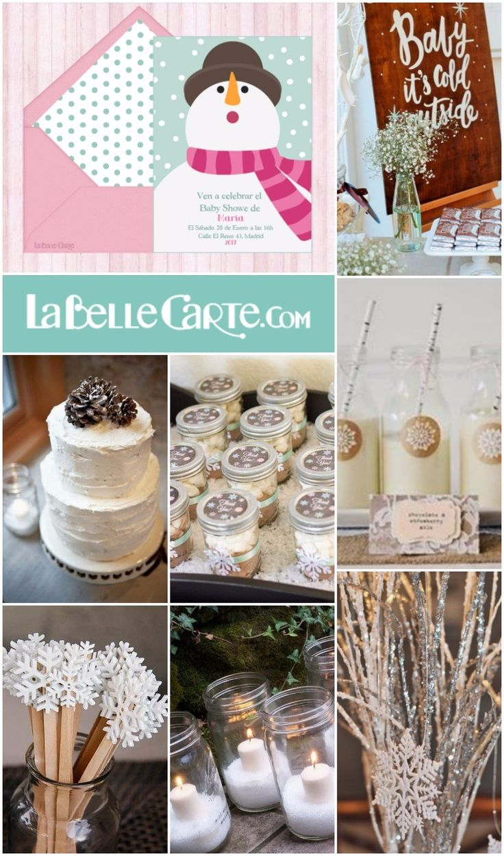 LaBelleCarte Online Baby Shower Invitations Cards Ideas Winter