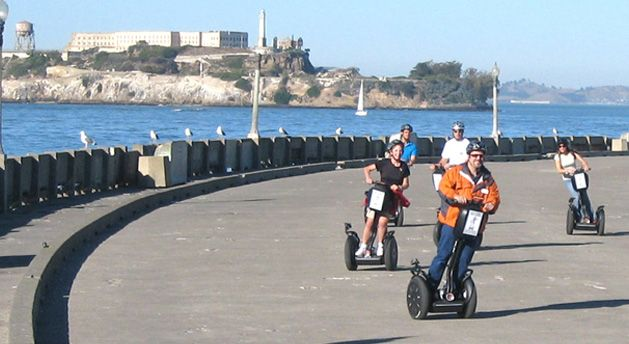 SF trip- Segway Tours & Alcatraz Ferry Combo Package | San Francisco Segway and Electric Bike Tours