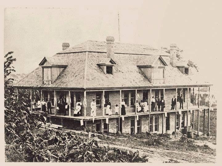 Freed Slaves Home at 17th & Highland St. Joseph Mo - I Love St. Joseph Mo