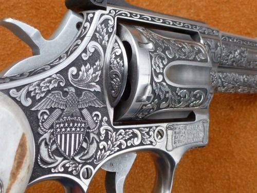 Smith & Wesson Engraved.
