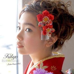 ゆかた髪飾り hair accessories for yukata (summer kimono)