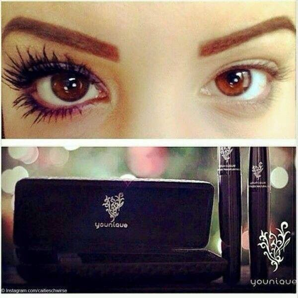 This is the amazing 3D fibre mascara. No more need for fake eyelashes with this product it is truly amazing:) http://www.youniqueproducts.com/rhiannonwilliams
