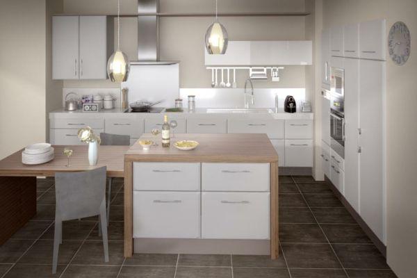 cuisine-lapeyre-bois-et-blanc-deco.jpg (600×400) | aménagement ...
