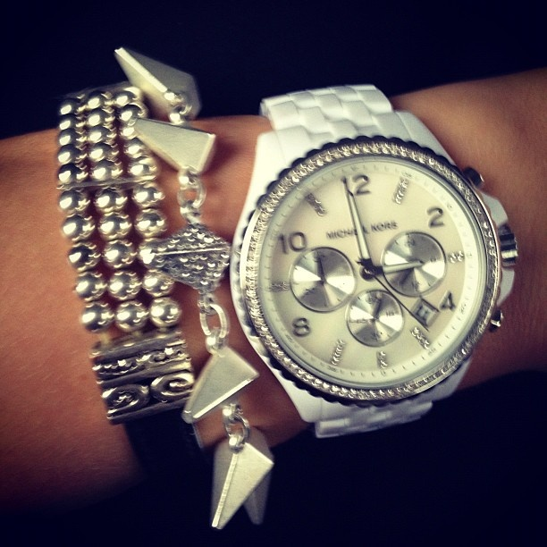 Arm candy :) MK, Jewelmint & VintageFashion Beautiful, Jewelry Watches, Fashion Forward, Meghanrosette, Fashion Nails Hair Make Up, Accessories, Fashion Finding, Arm Candies, Bling Bling