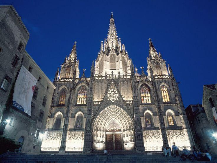 Pingl Par Juliette Poiret Sur La Catedral De Barcelona