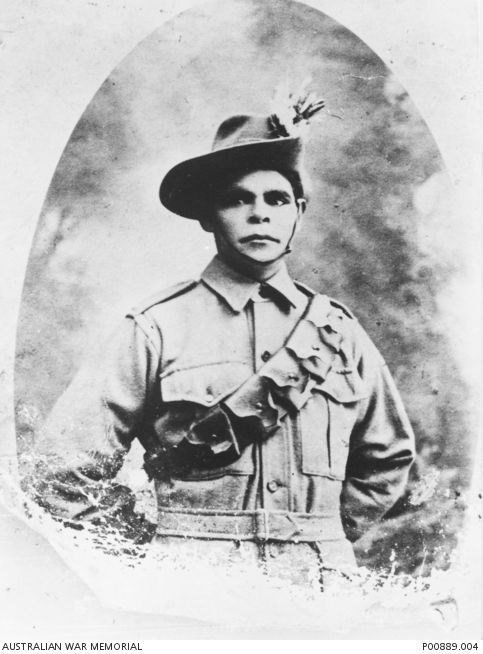 Studio portrait of 2436 Private (Pte) Harry C Murray, 11th Light Horse Regiment. Pte Murray of Taroom, Qld, worked as a stock and station hand prior to enlisting on 2 June 1917. He embarked for service overseas with the 11th Light Horse Regiment, 20th Reinforcements aboard HMAT Ulysses (A38) from Sydney on 19 December 1917. After undergoing training at the Australian Light Horse Remount Unit at Moascar, Pte Murray joined the 11th Light Horse Regiment at Belah, Palestine, on 9 March 1918.