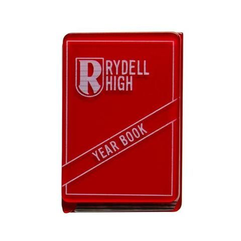 """Erstwilder Collectable Rydell Forever Brooch. """"I'll sign yours if you sign mine. Friends Forever. Class of '59."""""""