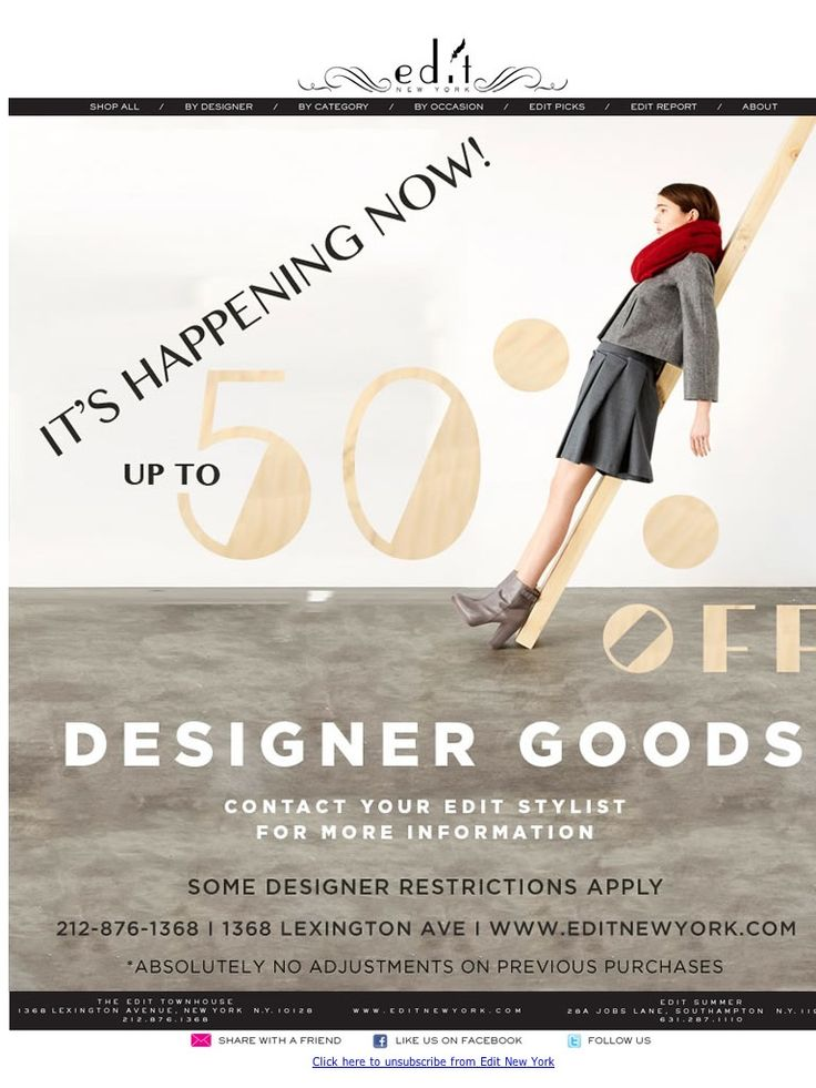 Edit New York - designer goods