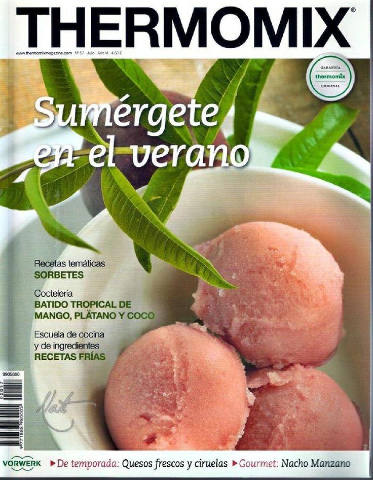 Revista thermomix nº57 sumergete en el verano