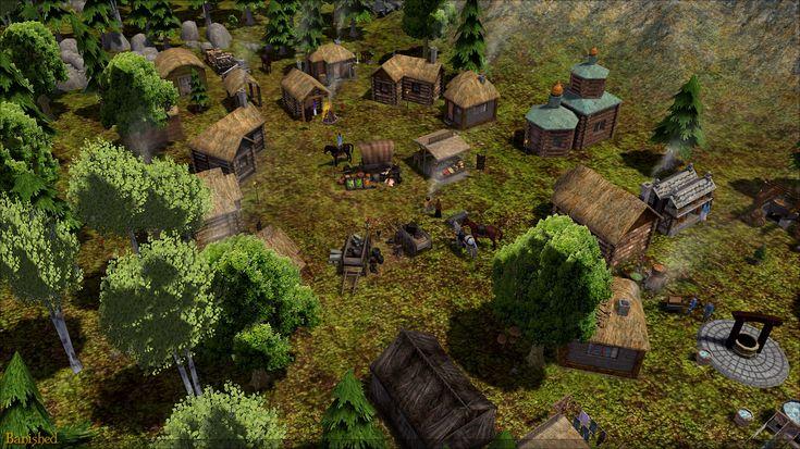 #banished #banishedGame Paeng's Nomad Settlement