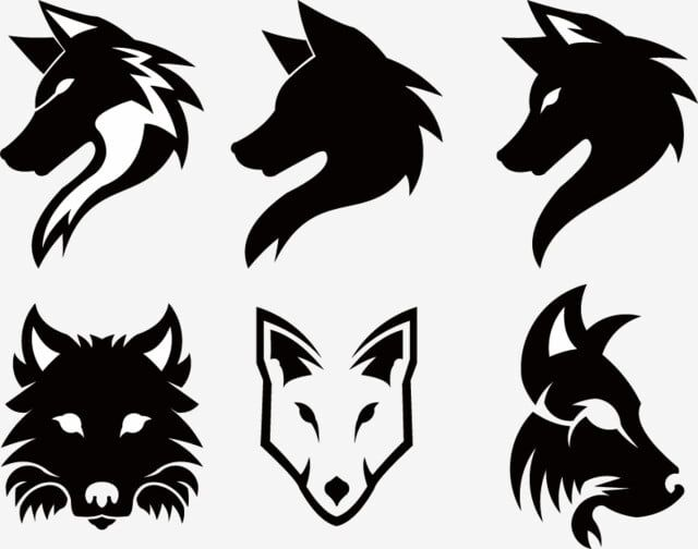 Wolf Head Logo Mascot Emblem Wolf Clipart Logo Icons Wolf Icons Png And Vector With Transparent Background For Free Download Image Symbols Natural Logo Wolf Clipart
