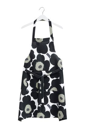 Actually this color would be better in our kitchen.  hee hee  Marimekko Apron