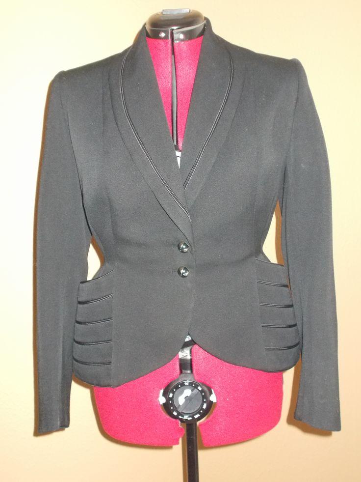 Parisian tailor-made jacket from the New Look era.