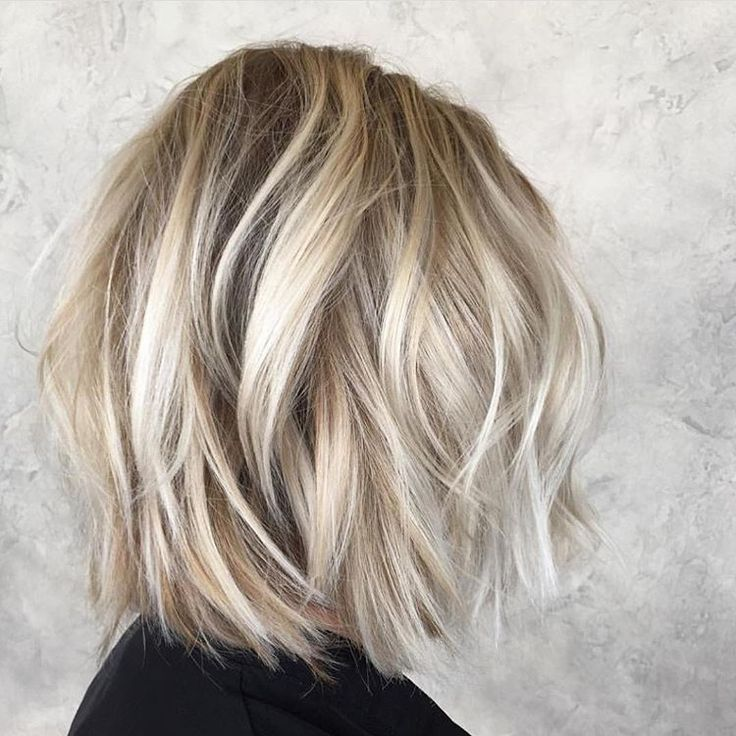 Textured Blonde For Summer Hairby Britts Messy Bob Hairstyles Bob Hairstyles For Thick Bob Hairstyles