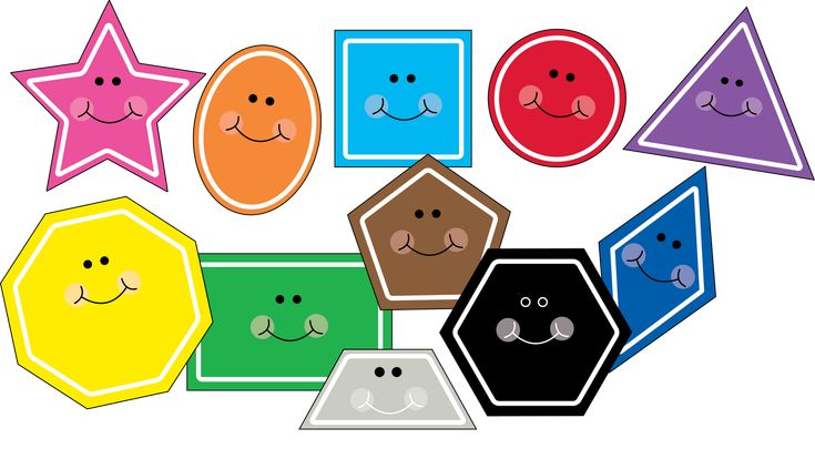 Love Two Teach: Free Shape Clipart!!! Updated with hexagon and trapezoid!!!