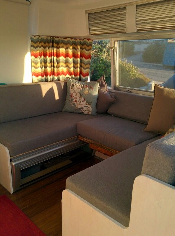 17 Best Images About Airstream Front Bed Dinette On Pinterest