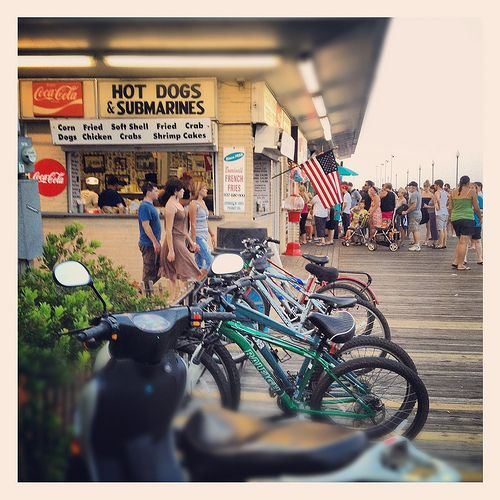Jay & Jay's Hot Dogs Submarines Boardwalk Rehoboth Beach Delaware Summer Vacation Shore