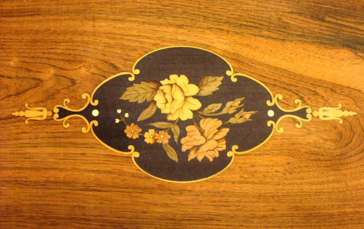 We have an expansive design library of patterns and pictures, and 25 years of marquetry inlay manufacturing experience to draw on, and we believe we provide an unrivalled service. Description from heritageinlay.com. I searched for this on bing.com/images