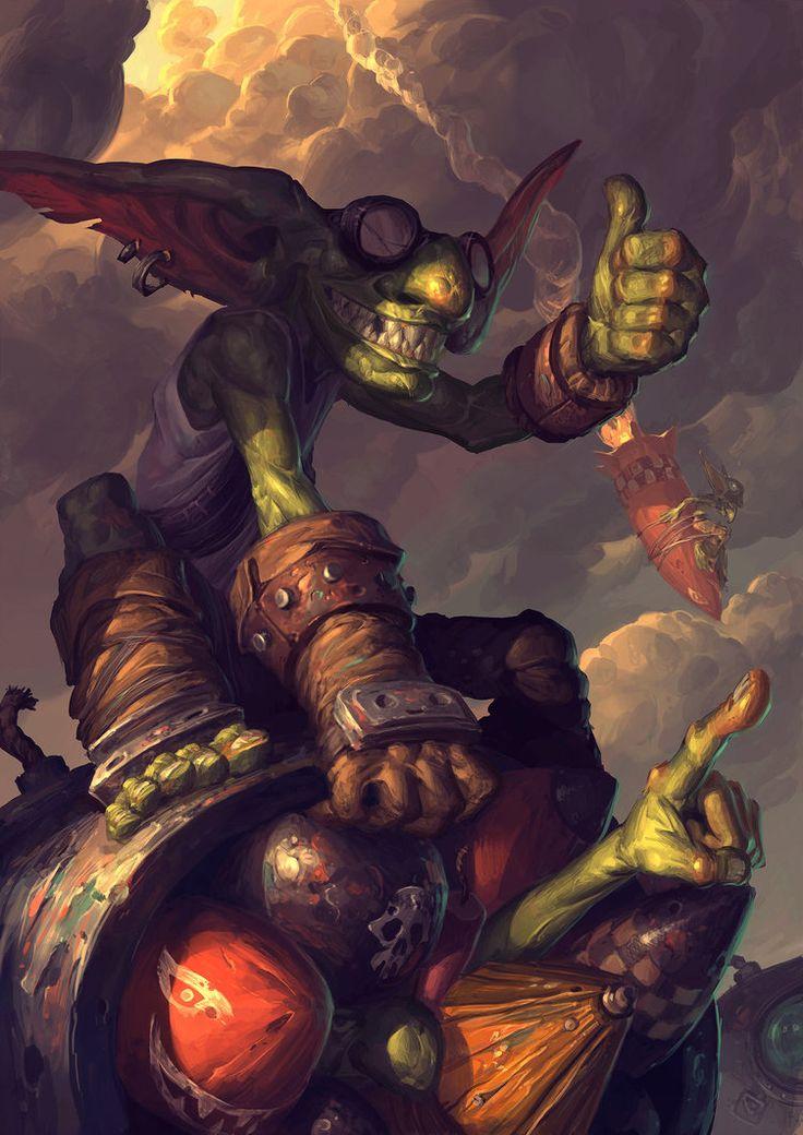 Goblin vs entrada Gnomos por EdCid