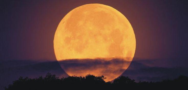 Este domingo 10 de agosto se viene la Superluna!