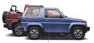 Image result for daihatsu feroza special edition 1996 promotional brochure