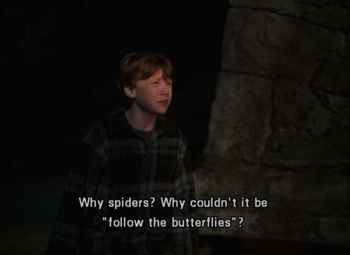 Another funny quote. My cousin and I were just talking about it  -Harry Potter and the Chamber of Secrets