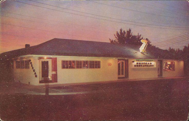 Pelican Restaurant, Clearwater, FL - 1953