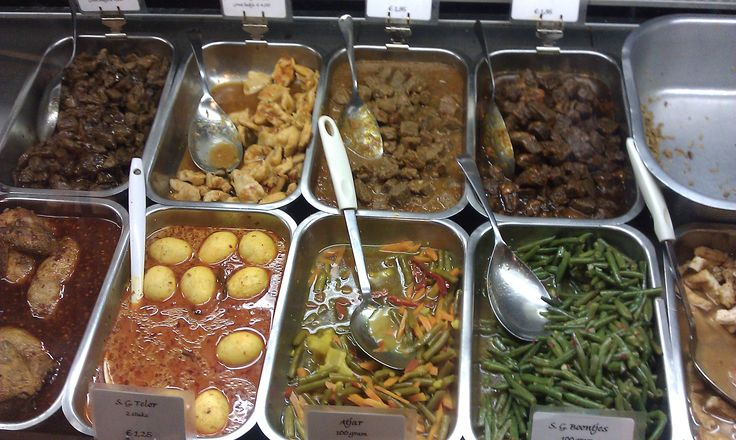 Indonesian Food | What the Dutch....one of each, please.