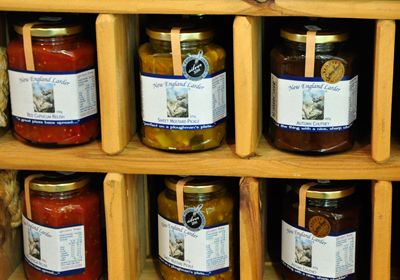 We Love the relishes from New England Larder