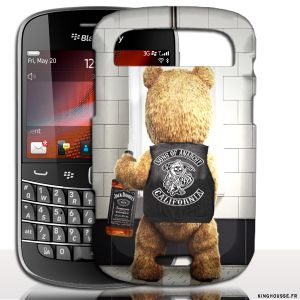 Coque BlackBerry Bold 9900 | Teddy Sons Of Anarchy | Coque de protection arriere. #Teddy #SOA #BlackBerry #9900 #Coque #Fun