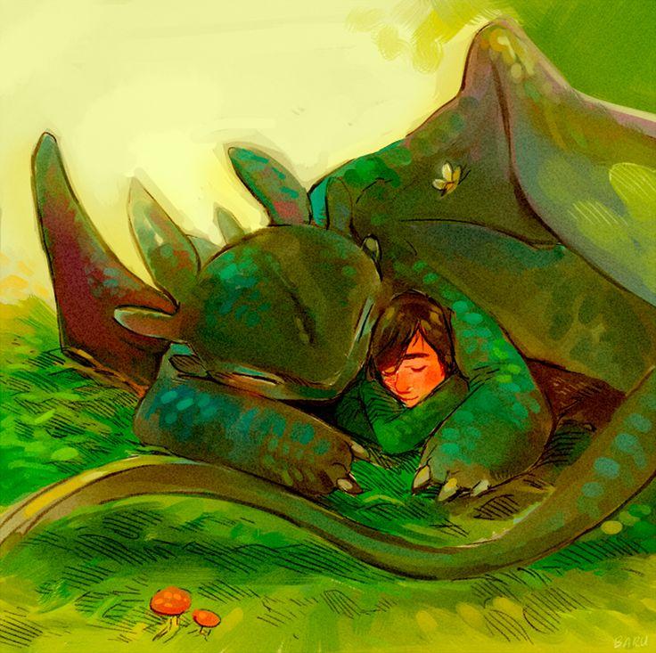 Rachel S. Aka Baru - How to train your dragon. I wanna cuddle with a dragon...