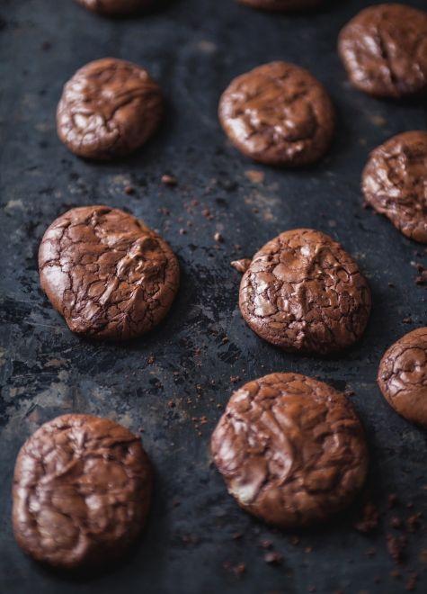 Biscuits+au+chocolat❤️ tres bon mais il faut ajouter un peu plus de farine au melange car trop liquide