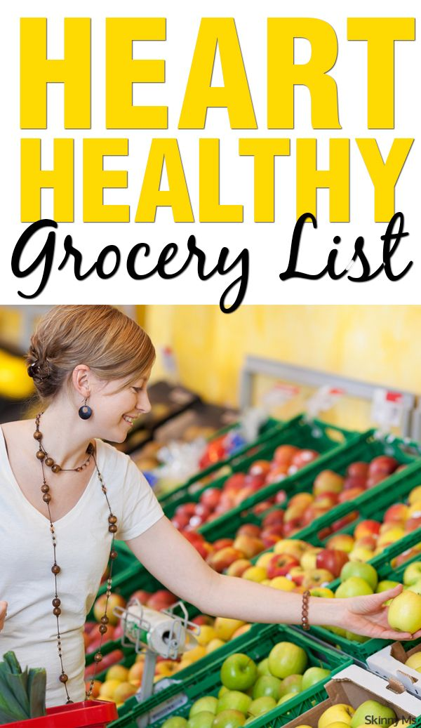 Heart disease is the number one killer of women in the United States. One in four women will die from it. Make positive changes to your lifestyle this week with our heart-healthy grocery list. #hearthealthy #grocerylist #womenshealth