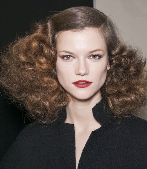 hair styles for frizzy hair 20 best 2013 fall fashion week images on fall 5136