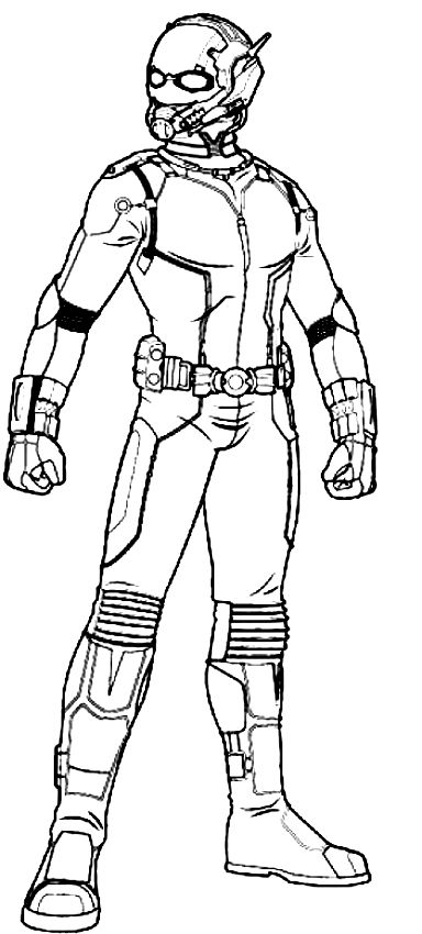 Ant Man Coloring Pages Best Coloring Pages For Kids Ant Man Avengers Coloring Avengers Coloring Pages
