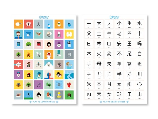 Chineasy Tiles - Play Games to Learn Chinese | Chinese Books | Learn Chinese | Characters & Pinyin/Zhuyin | ISBN 040232546501