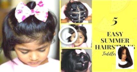 #amp #easy #Easy Hairstyles for toddlers #Frisuren #für #Haar
