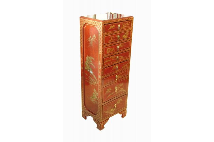 24 best chiffonniers semainiers images on pinterest for Meuble cabinet chinois