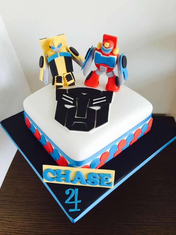 Transformers Rescue Bots Cake Whiskhk Www Facebook Com
