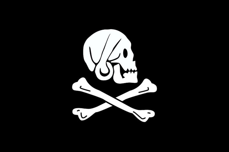 Henry Every's pirate flag, 17th century