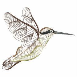 Rippled Hummingbirds 09(Sm) machine embroidery designs