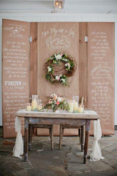 Bride and Groom table Photography by Kristyn Hogan / kristynhogan.com, Event Design, Floral Design  Planning by Cedarwood Weddings / cedarwoodweddings.com