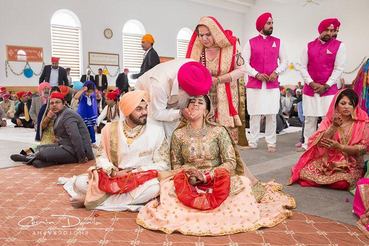 Edmonton Indian Wedding Photography Canada Punjabi Marriage Pictures Sikh Wedding Rituals Gurdwara Sri Guru Singh Sabha MiIlwoods Anand Karaj