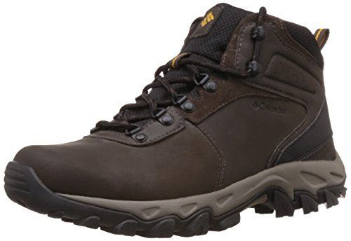 #Columbia #Mens Newton Ridge Plus II WP Hiking #Boot  Cordovan/Squash, 12 D US  Full review at: http://toptenmusthave.com/best-hiking-boots-for-men/