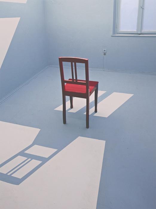 ROOM 3, room painting, Christian Weber
