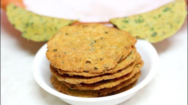 Kadak Methi Masala Puri Video Recipe | Wheat Fenugreek Crisps| Bhavna's Kitchen
