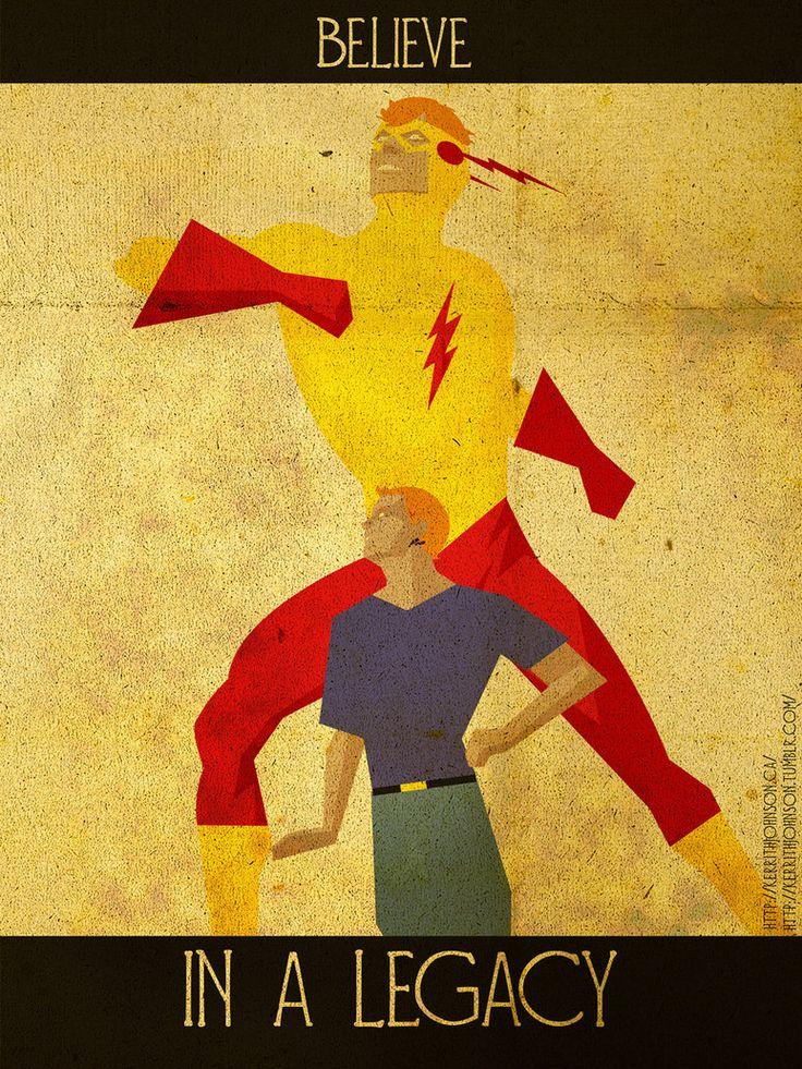 Believe - Kid Flash by *KerrithJohnson