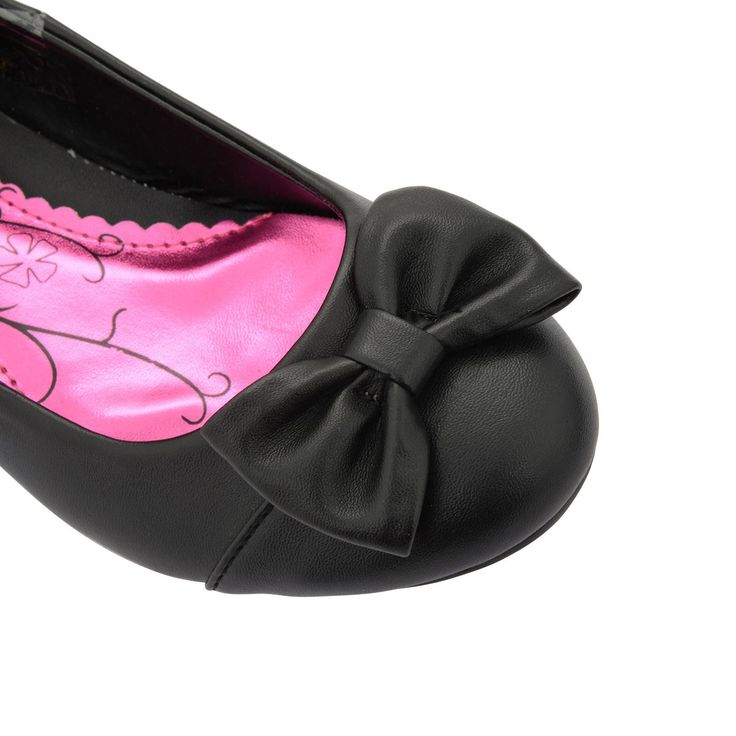 Black School Shoes For Girls With Heels